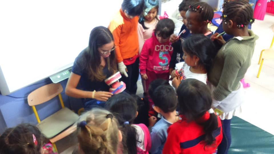 Higiene bucodental en nuestro Programa de Infancia y Familia